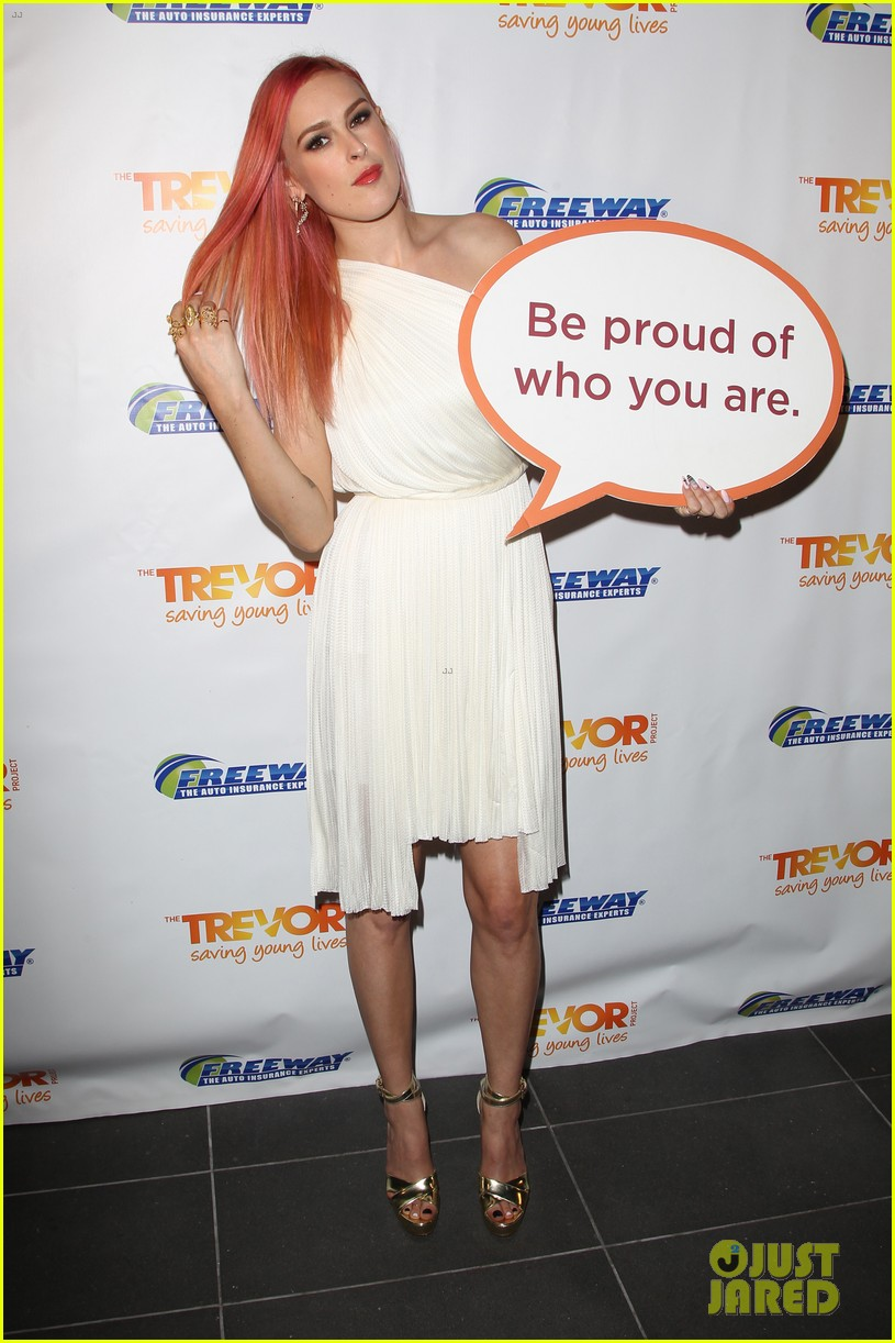rumer willis performs trevor project prom 2014 093125822