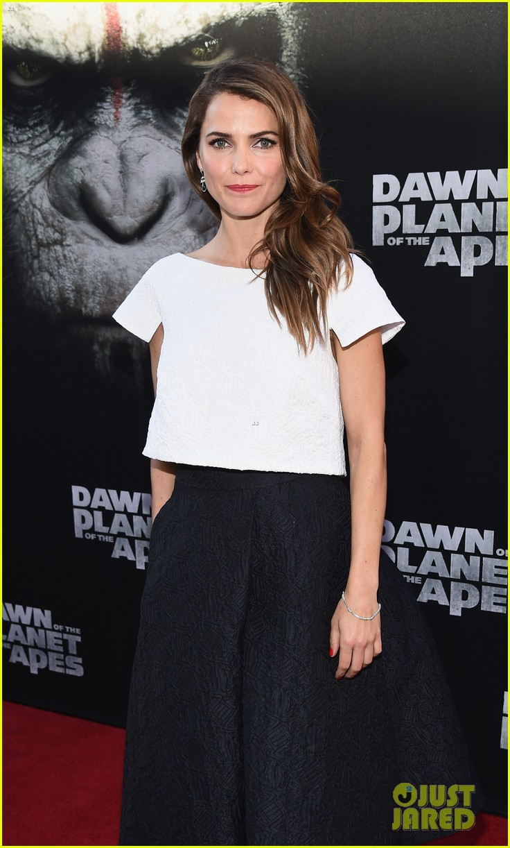 keri russell gets glam for dawn of the planet of the apes 023144595