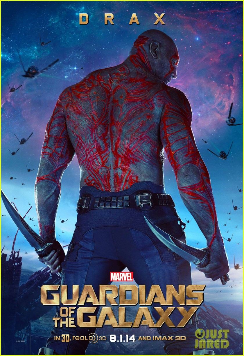 chris pratt zoe saldana guardians of the galaxy character posters 053137345
