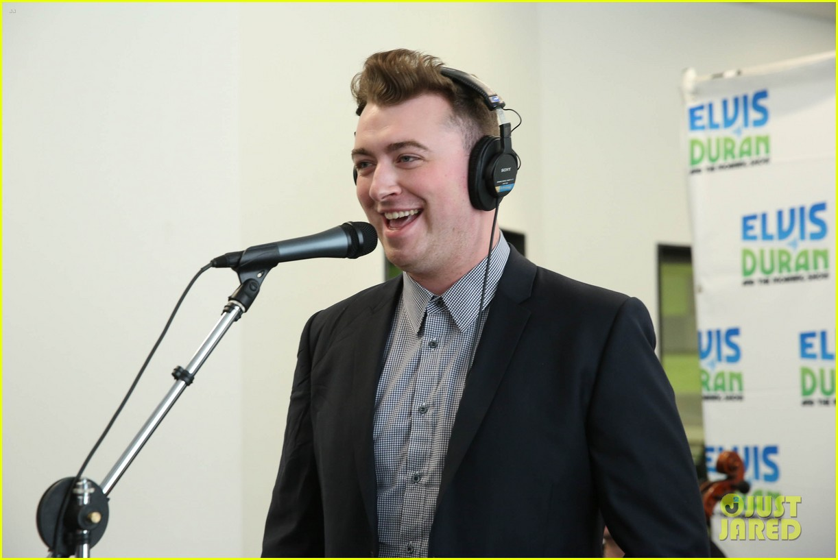 sam smith elvis duran show stop 103137288