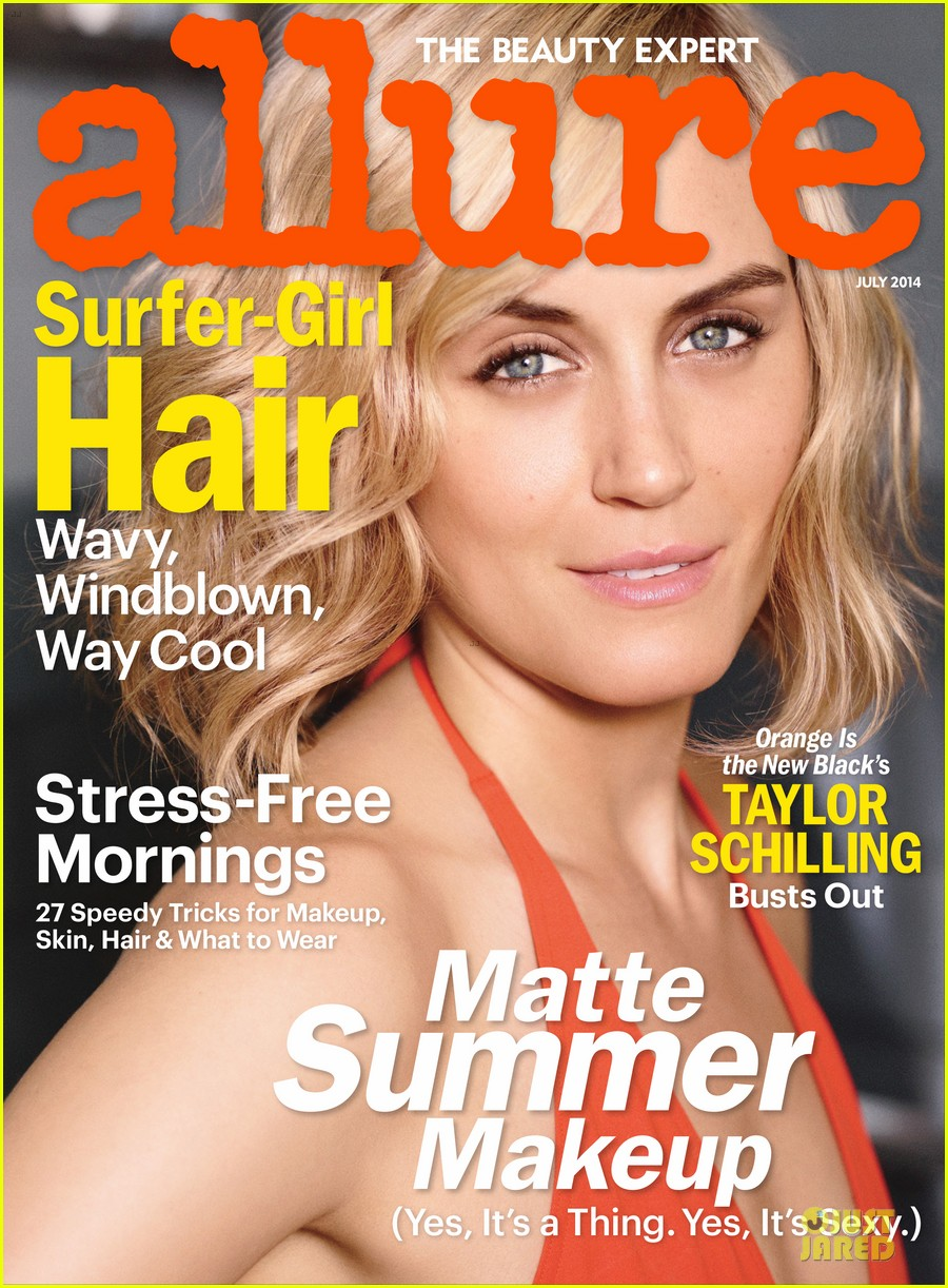taylor schilling talks liberating prison beauty in allure 023142024