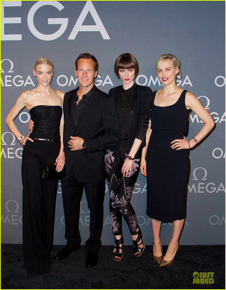 taylor schilling jaime king hang out omega event 033132801