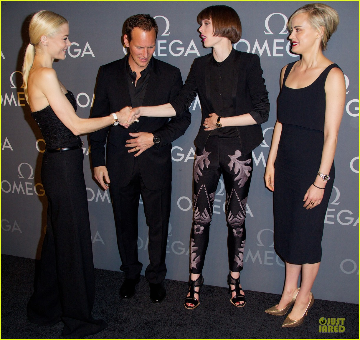 taylor schilling jaime king hang out omega event 17