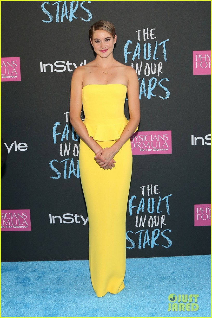 shailene woodley fault in our stars nyc premiere 033126849