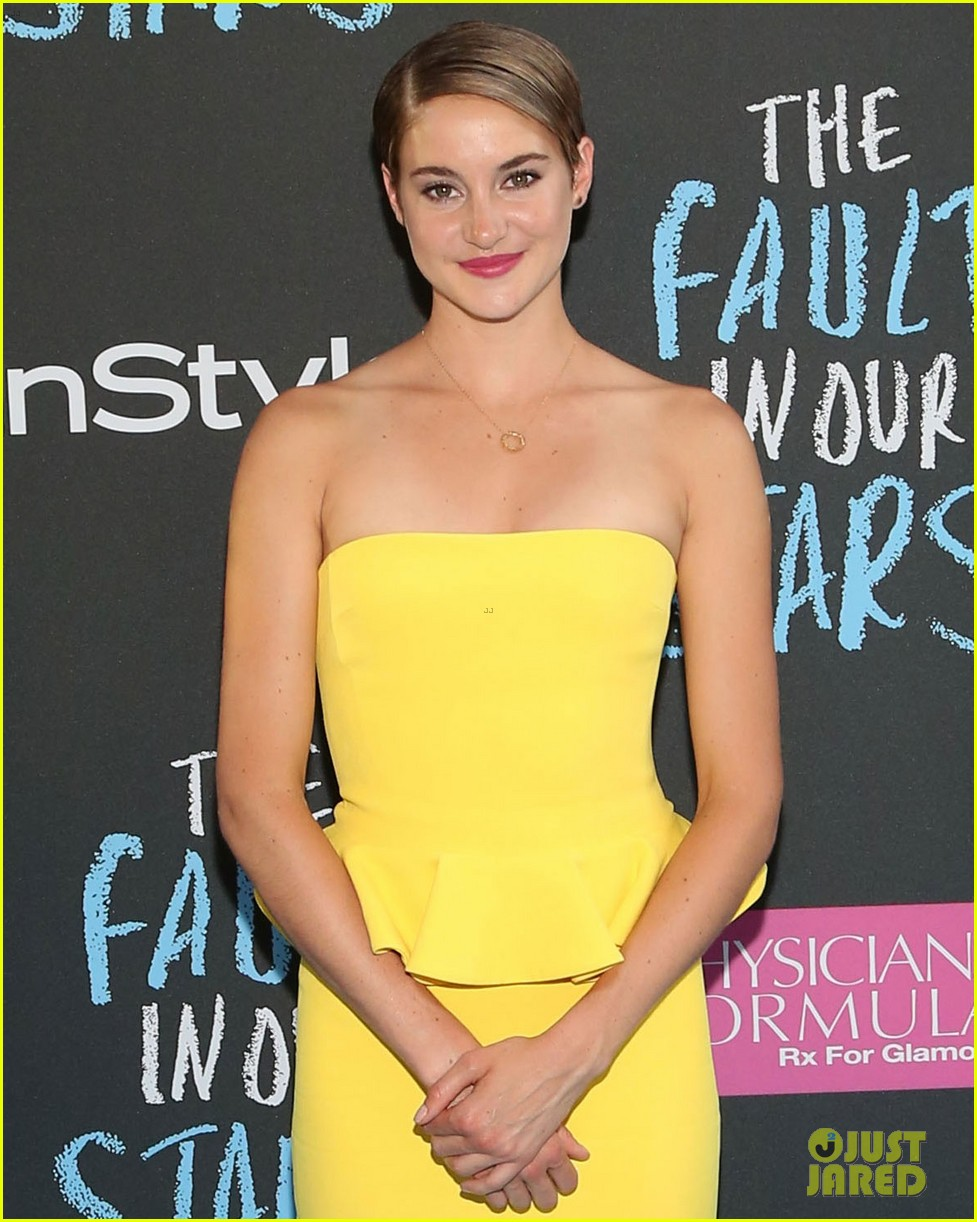 Shailene Woodley Brightens Up The Fault In Our Stars Nyc