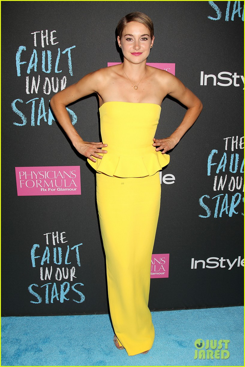 shailene woodley fault in our stars nyc premiere 073126853