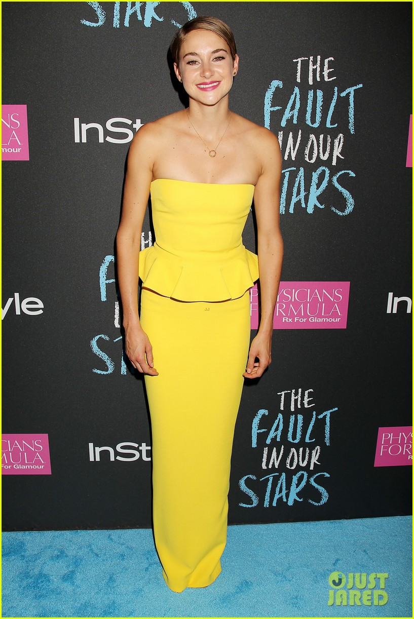 shailene woodley fault in our stars nyc premiere 343126880