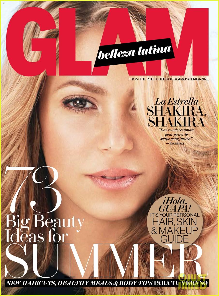 shakira glam belleza latina july 2014 023137520