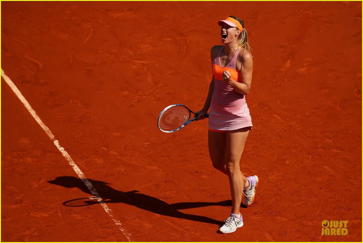 maria sharapova wins second french open 033130410
