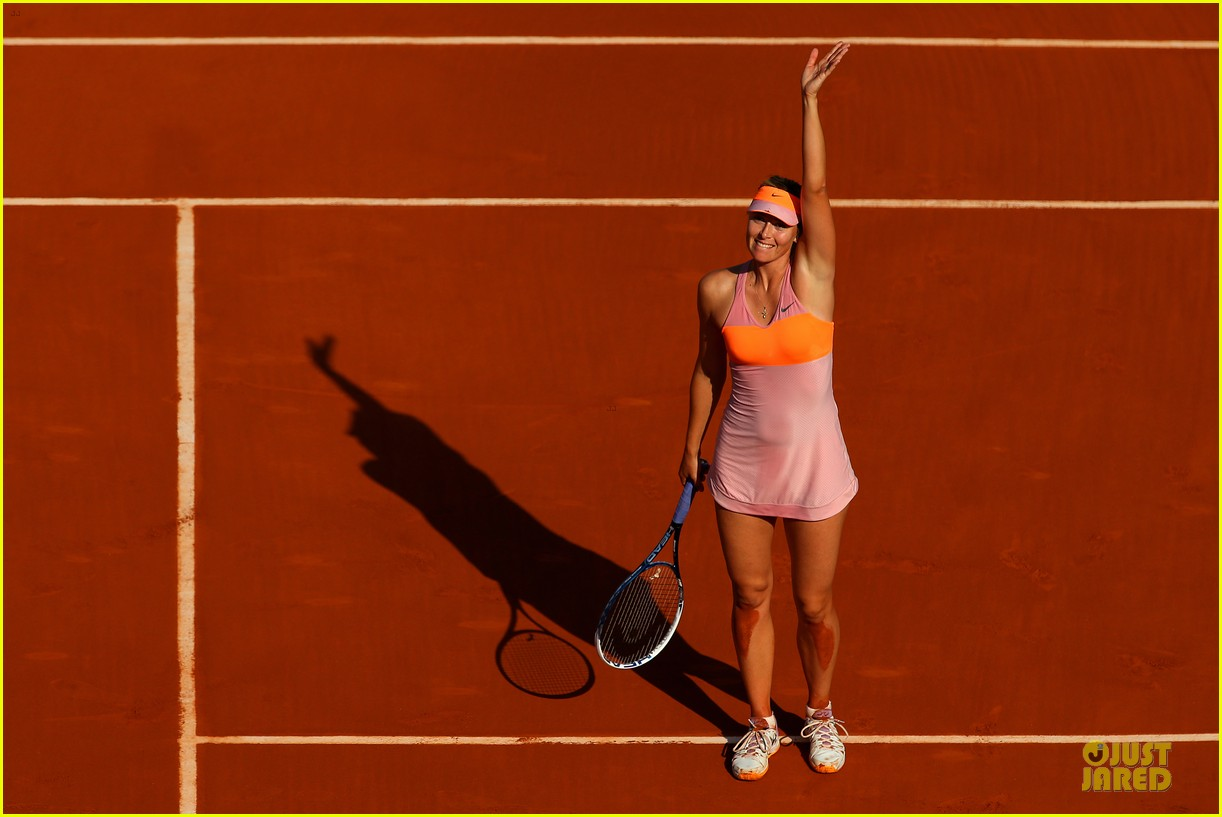 maria sharapova wins second french open 053130412