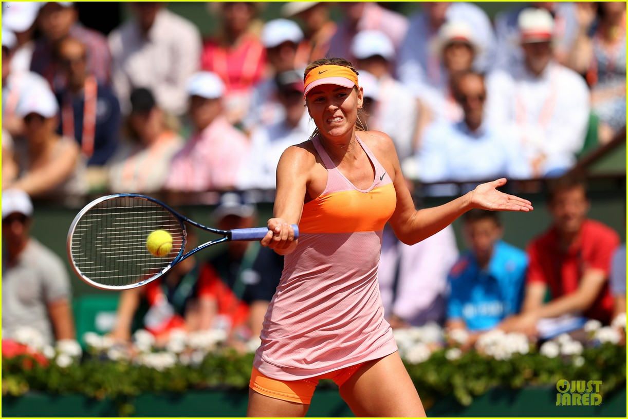 maria sharapova wins second french open 063130413