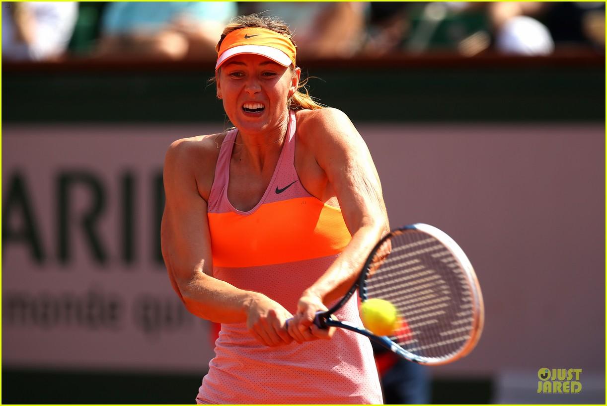 maria sharapova wins second french open 083130415