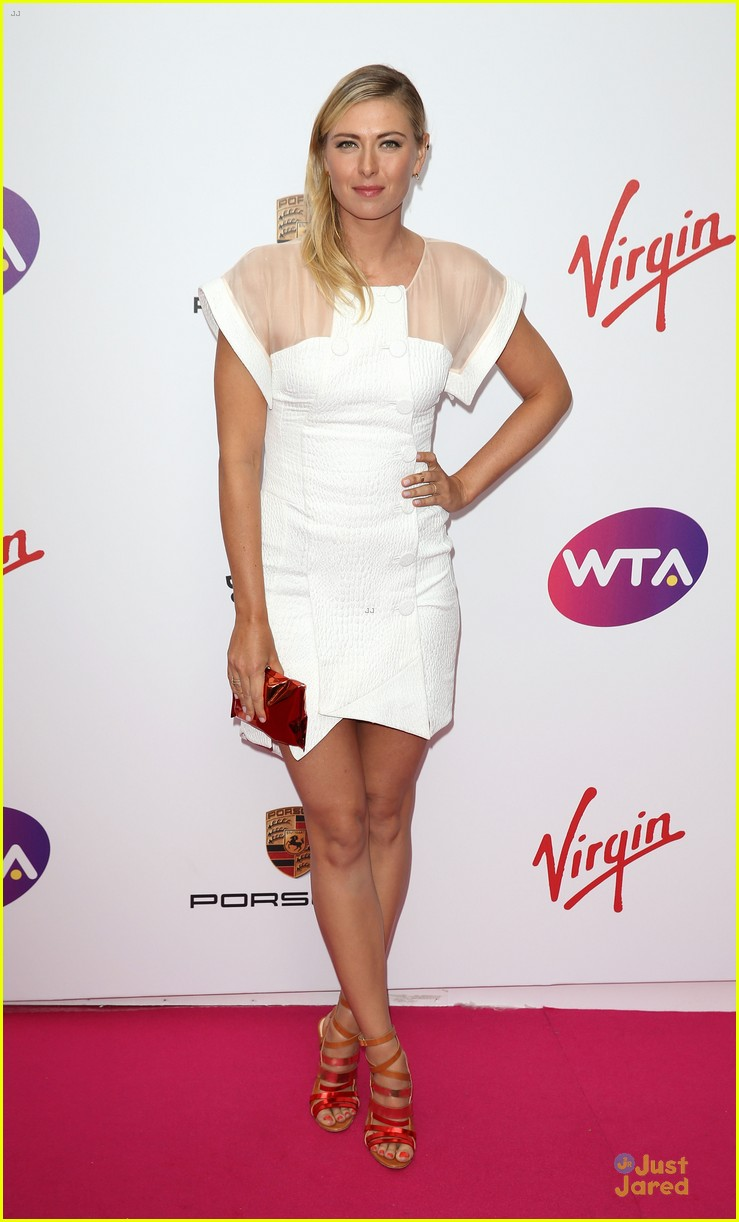 maria sharapova serena williams pre wimbledon party 06