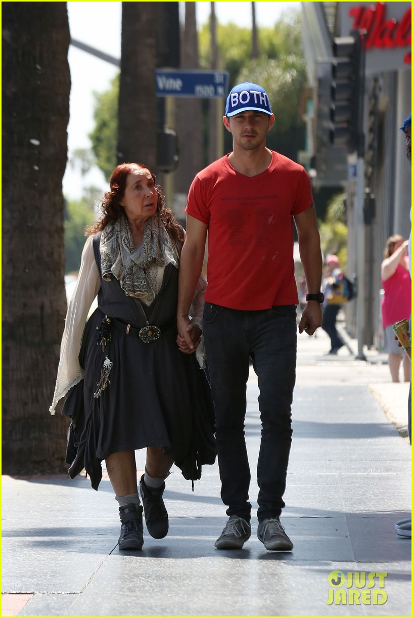 shia labeouf holds hands with his mom while out to lunch 073126063