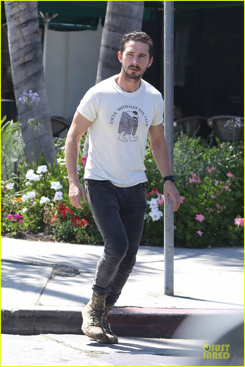 shia labeouf makes us notice flashing uncle sherman 063136841