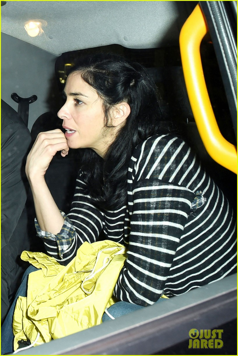 sarah silverman watches boyfriend michael sheen have sex all the time on tv 013129922