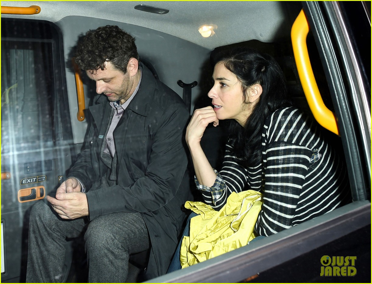sarah silverman watches boyfriend michael sheen have sex all the time on tv 023129923