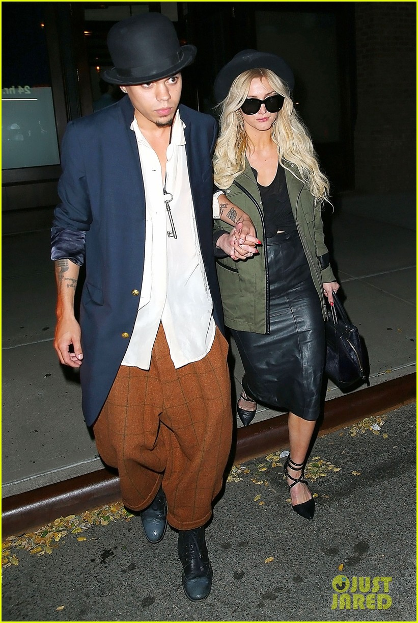 ashlee simpson evan ross say goodbye to new york city 103143904