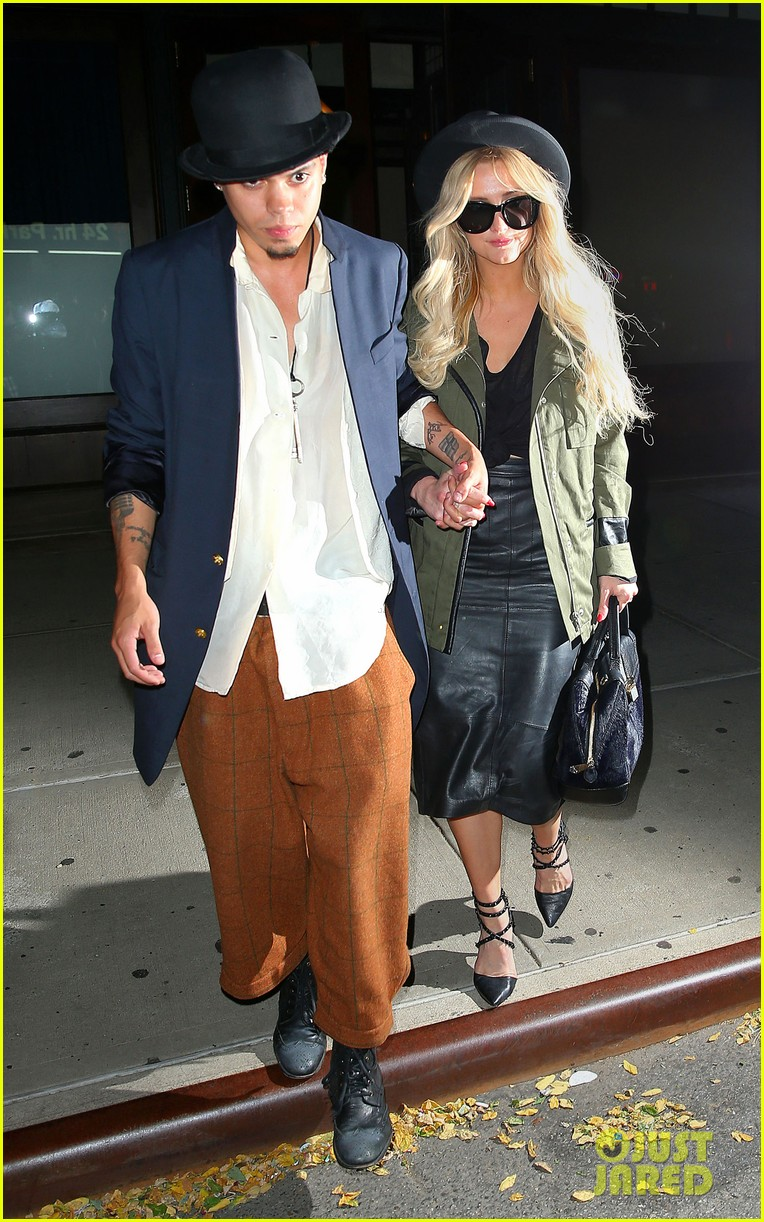 ashlee simpson evan ross say goodbye to new york city 113143905