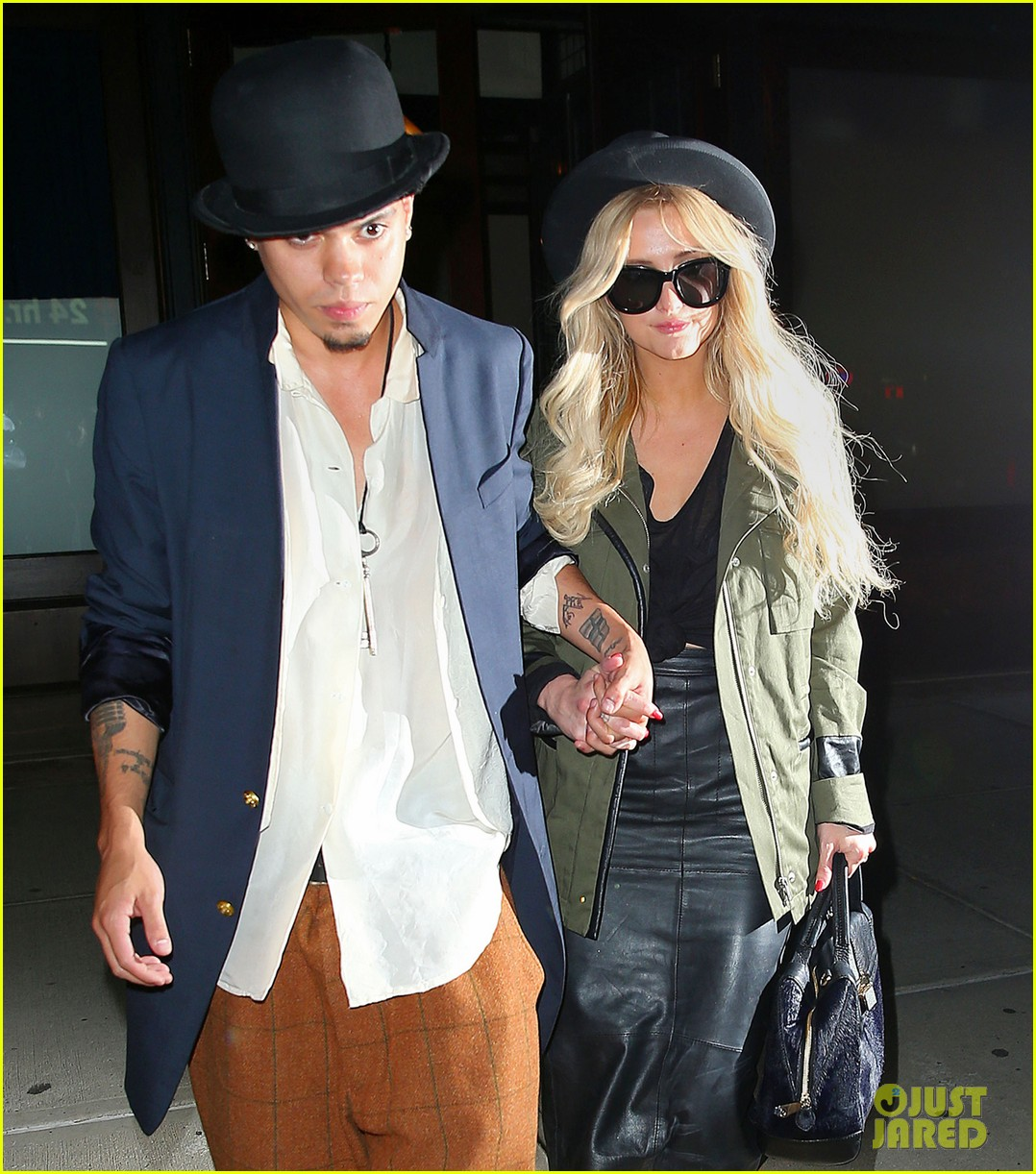 ashlee simpson evan ross say goodbye to new york city 143143908