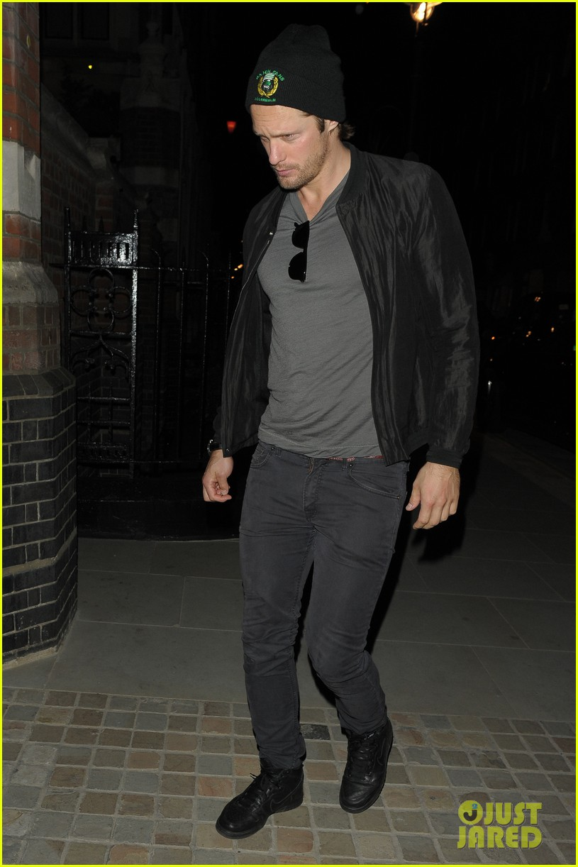 alexander skarsgard emerges again at chiltern firehouse 013125713