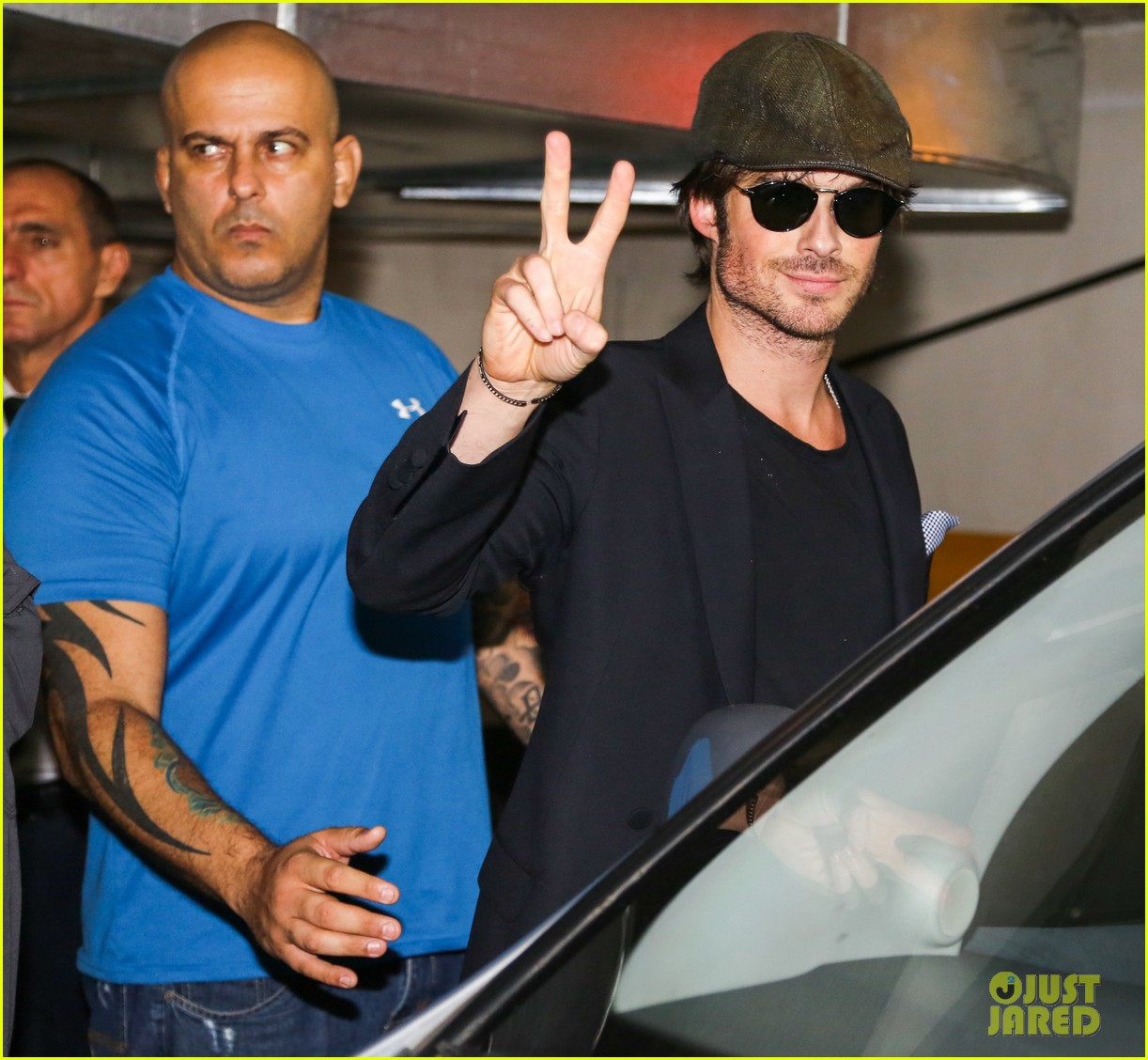 ian somerhalder tells his brazilian fans to stop screaming 253125624