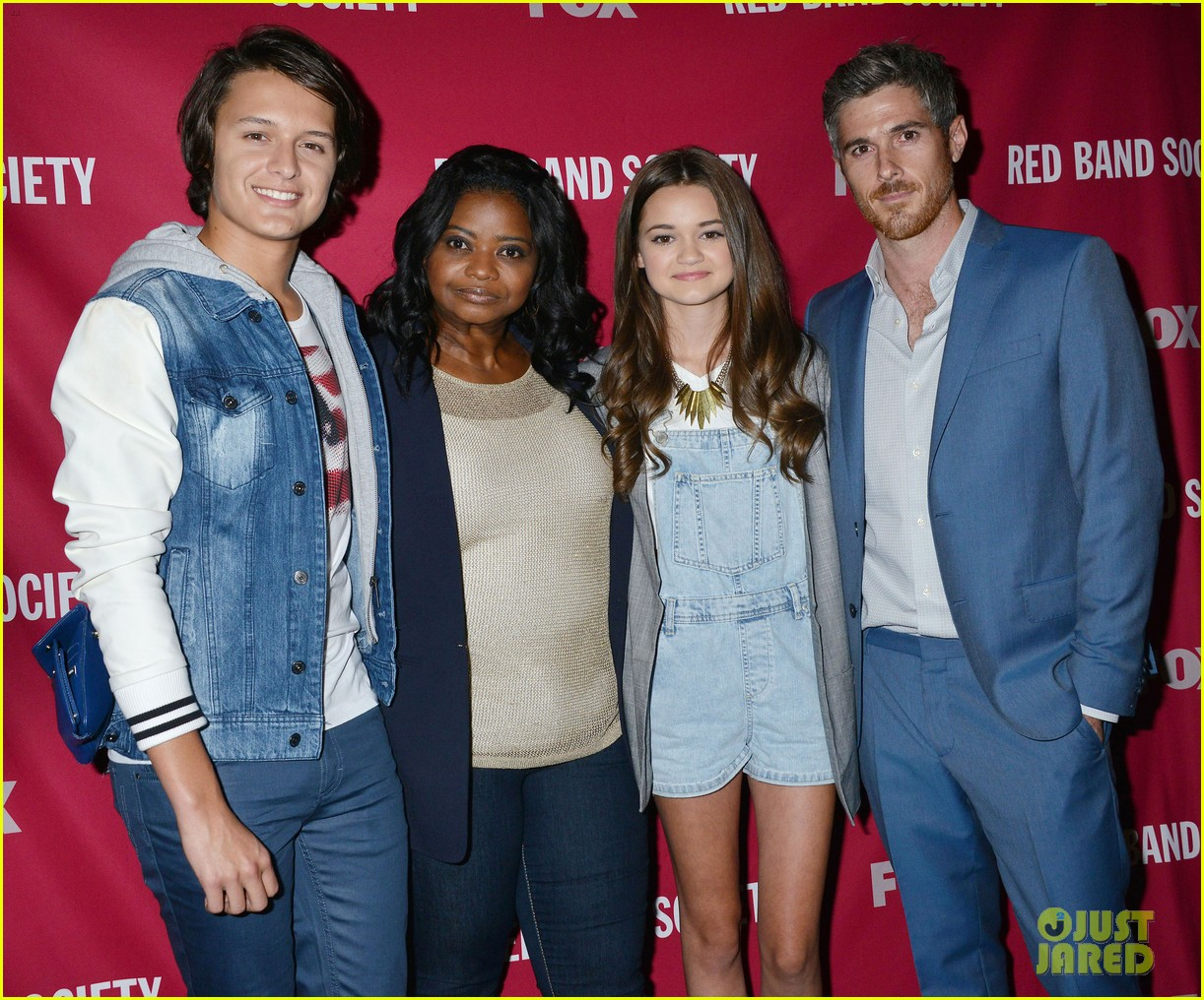 octavia spencer joins red band society cast at special l a screening 173143681