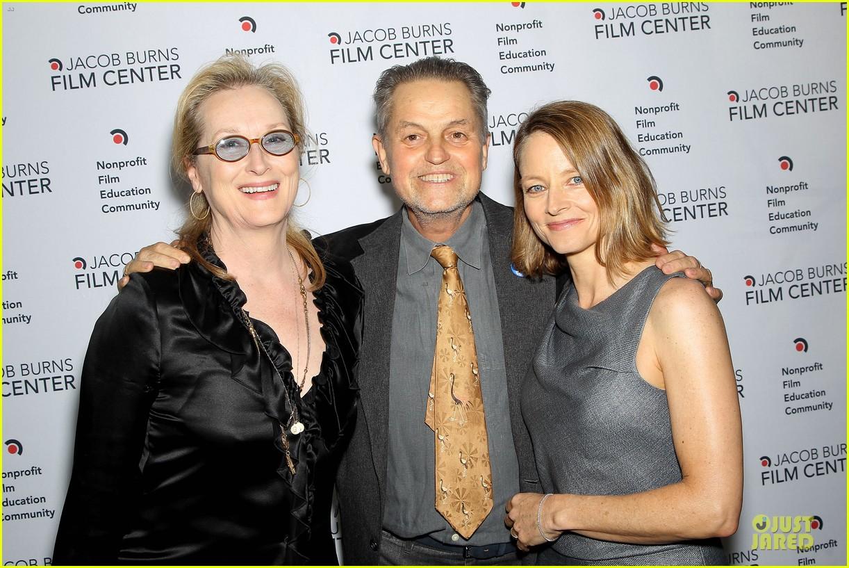 meryl streep jodie foster help hionor filmmaker jonathan demme 063135772