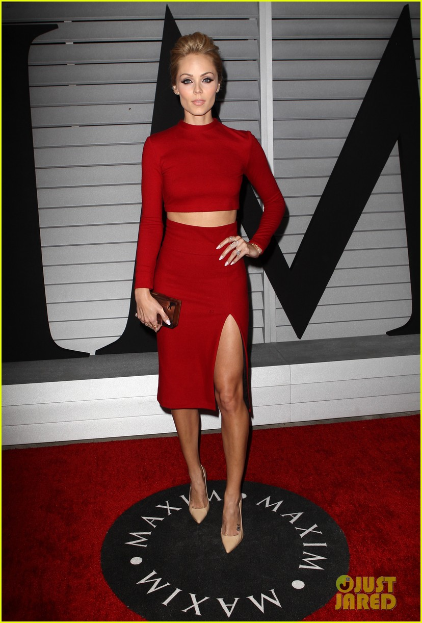 candice swanepoel sophia bush step out for maxims hot 100 033133253