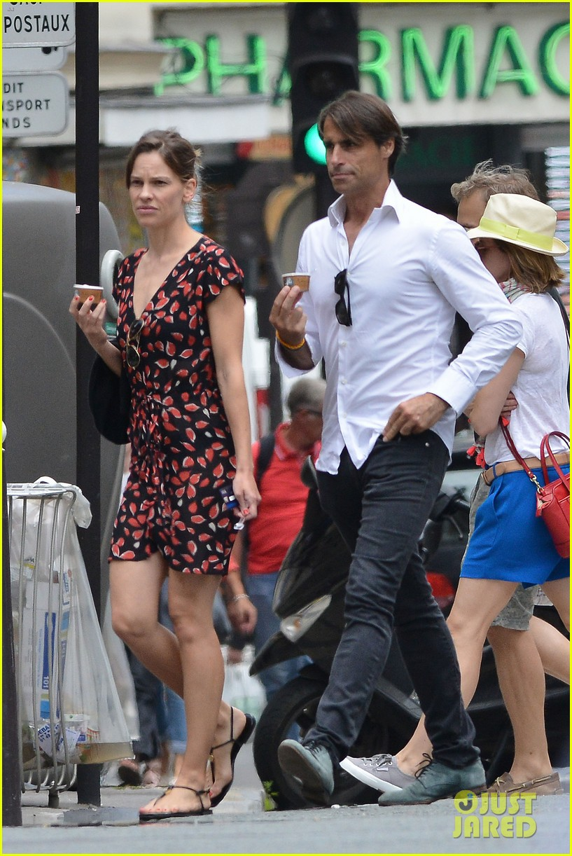hilary swank boyfriend laurent fleury cool down glace 01