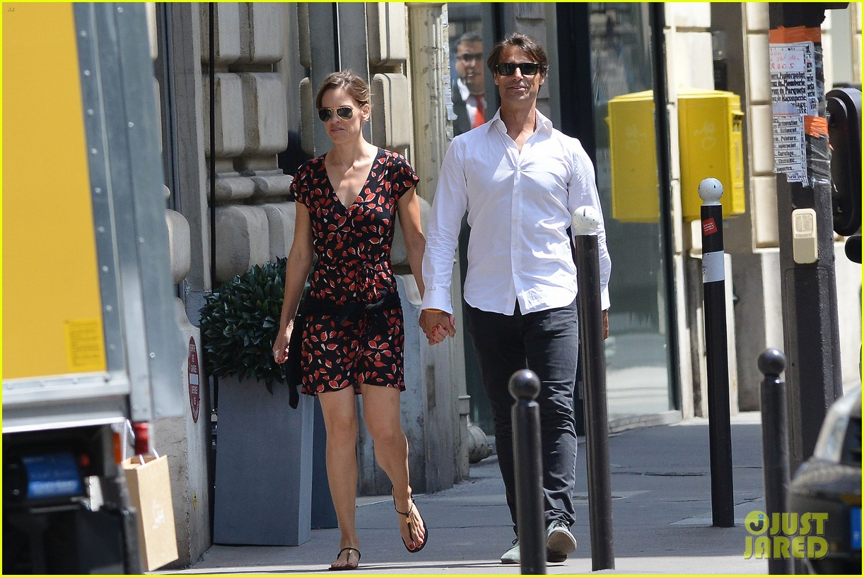 hilary swank boyfriend laurent fleury cool down glace 063134428