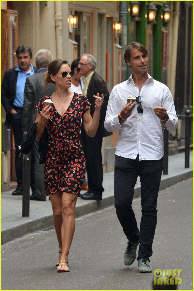 hilary swank boyfriend laurent fleury cool down glace 123134434