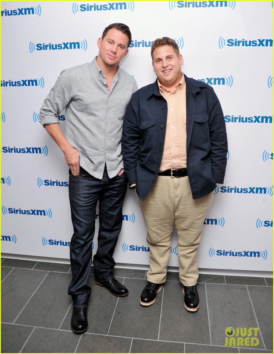 channing tatum joins jonah hill for 22 jump street press 023128191