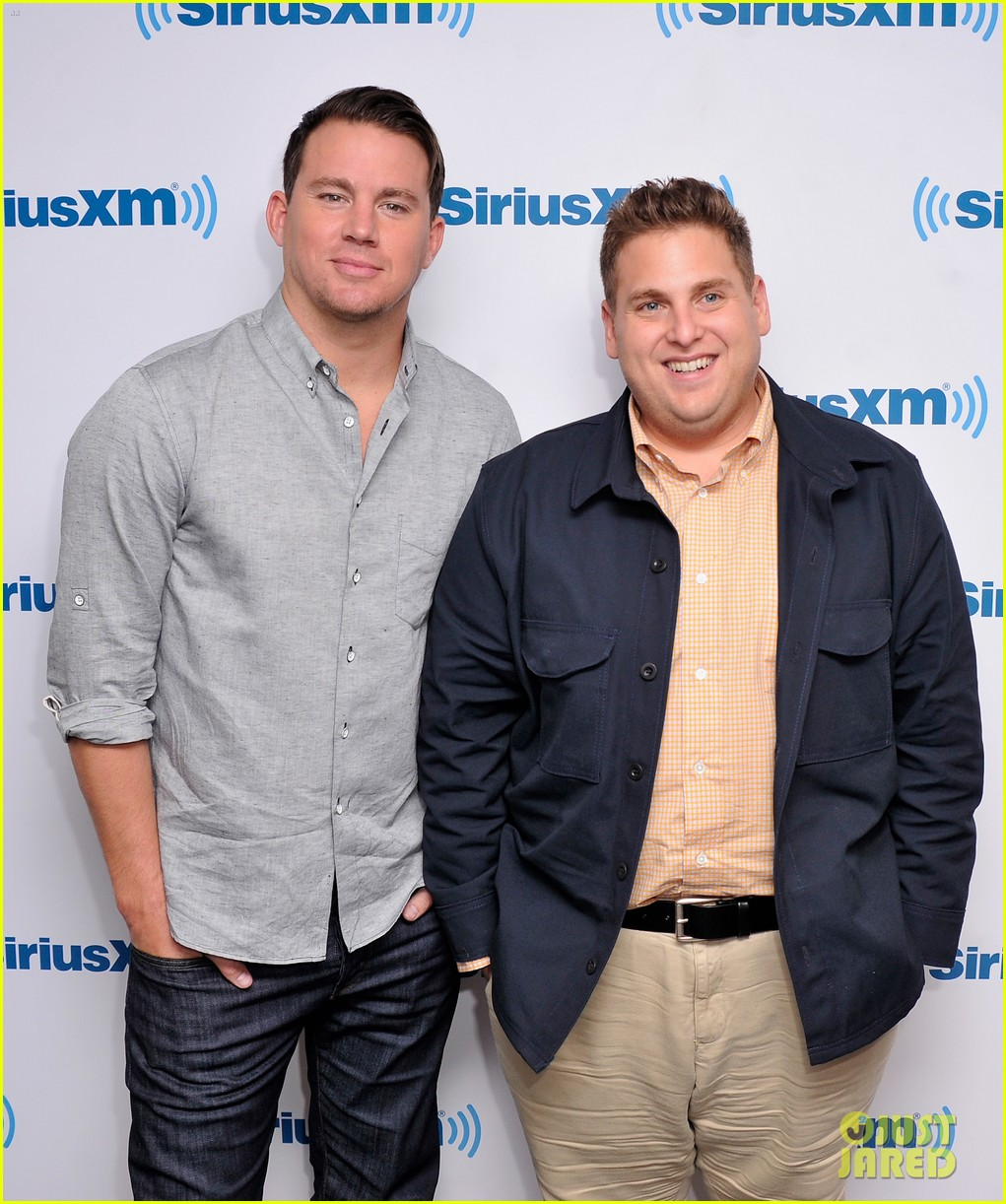 channing tatum joins jonah hill for 22 jump street press 063128195