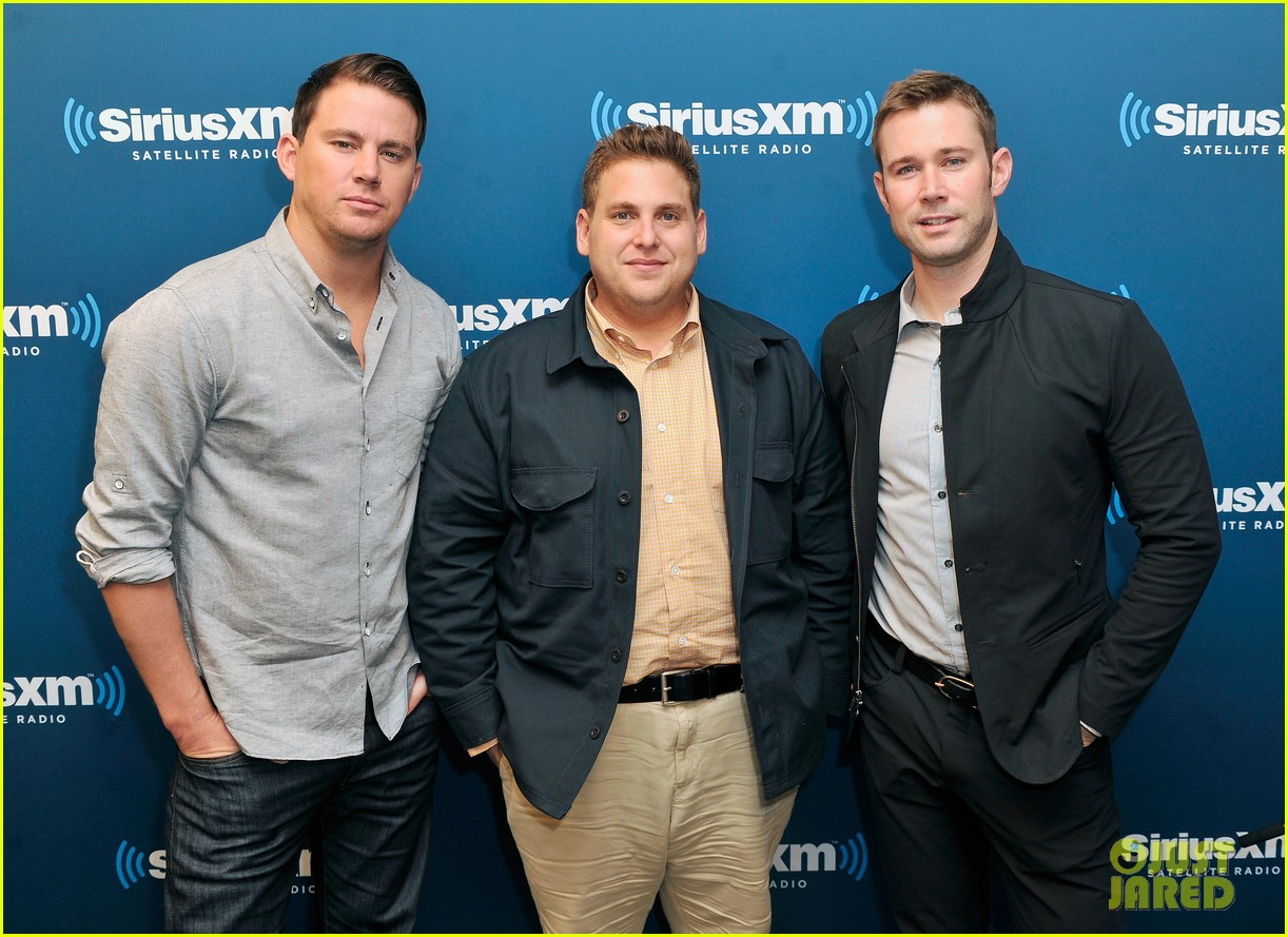 channing tatum joins jonah hill for 22 jump street press 093128198