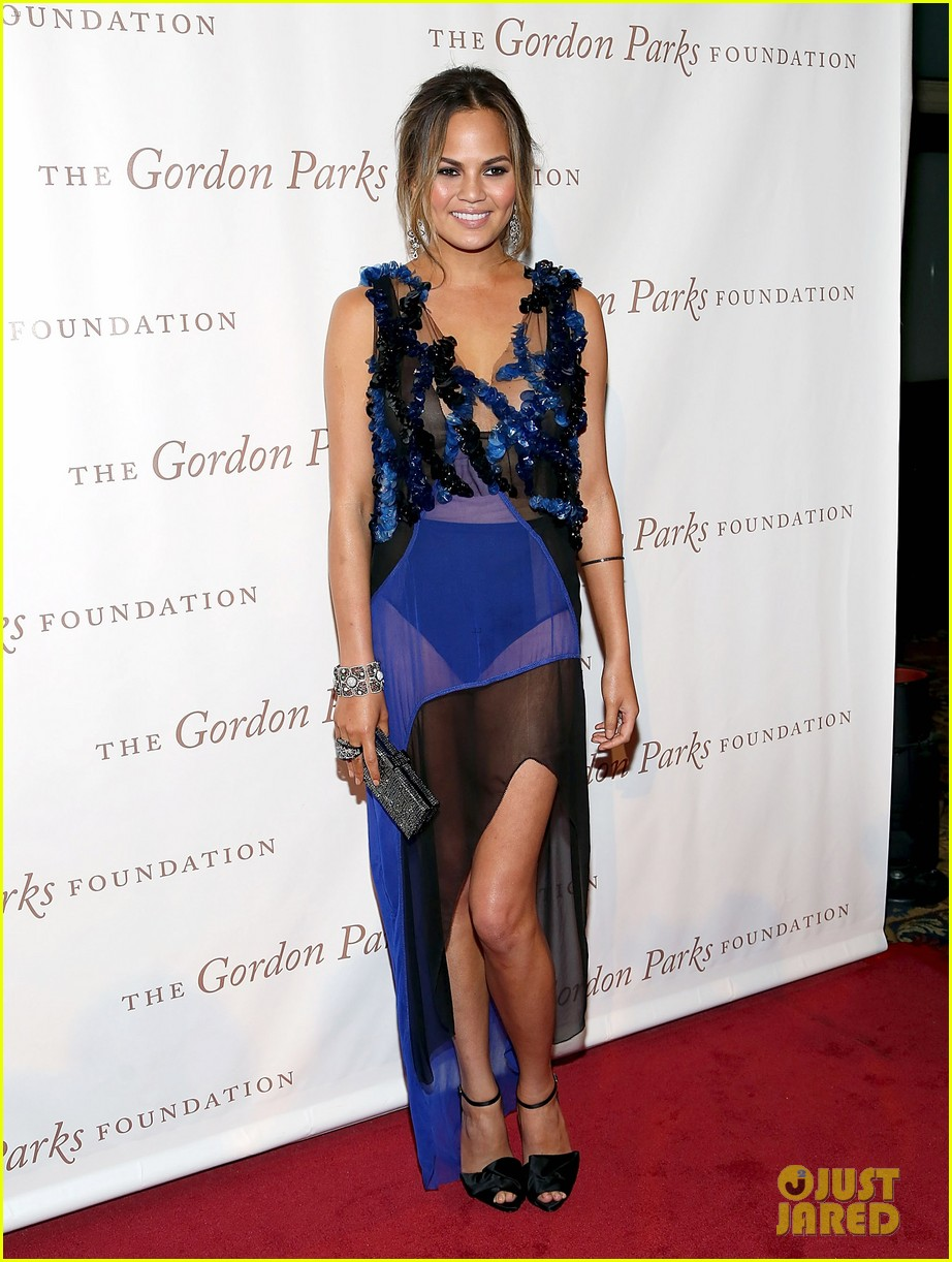chrissy teigen alicia keys are dressed to the nines for gordon parks 07