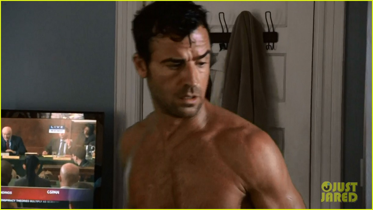 justin theroux shirtless the leftovers series premiere 103146761