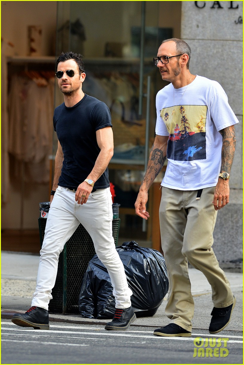 justin theroux hangs out with terry richardson 013145651