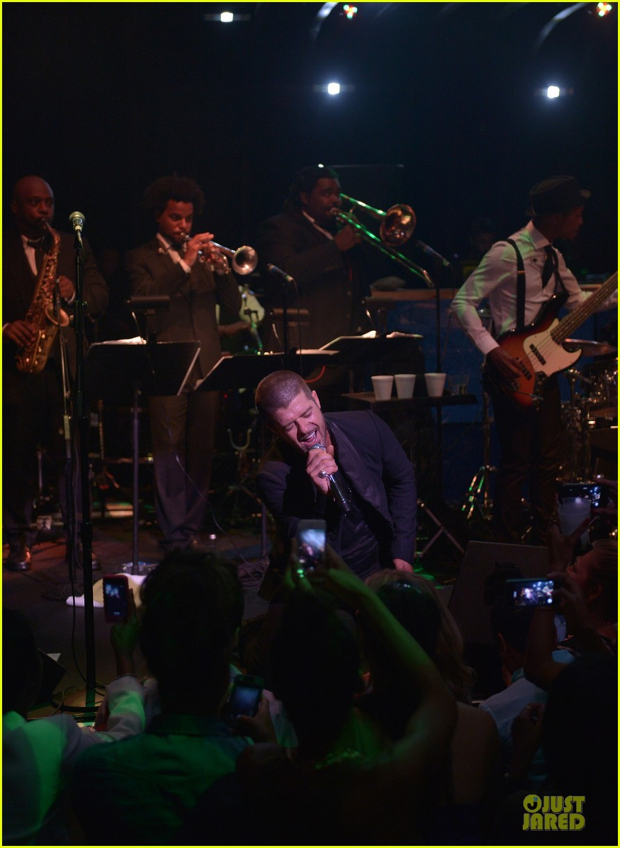 robin thicke paula album celebration 103145257