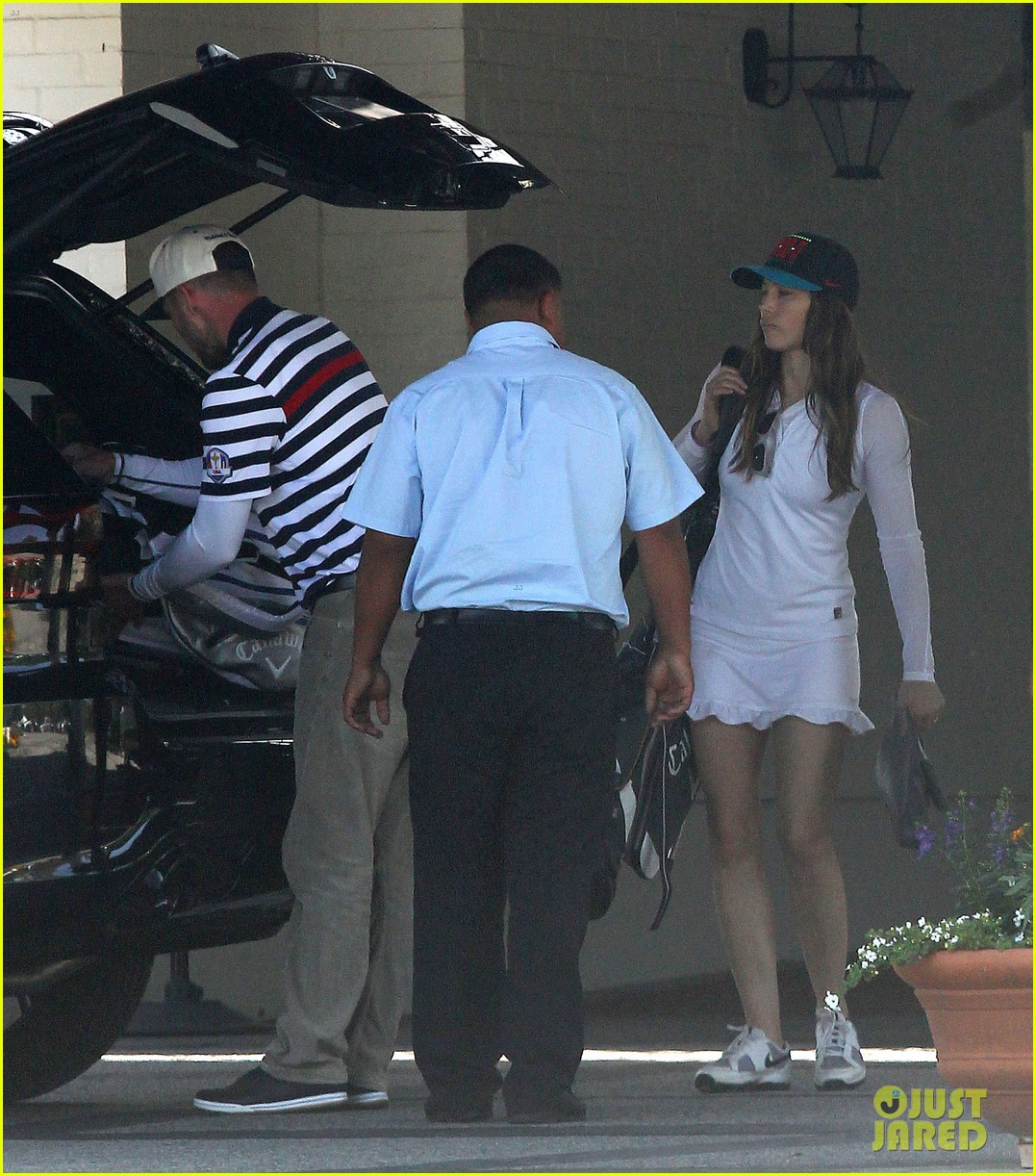 justin timberlake jessica biel fathers day golf course 023136497