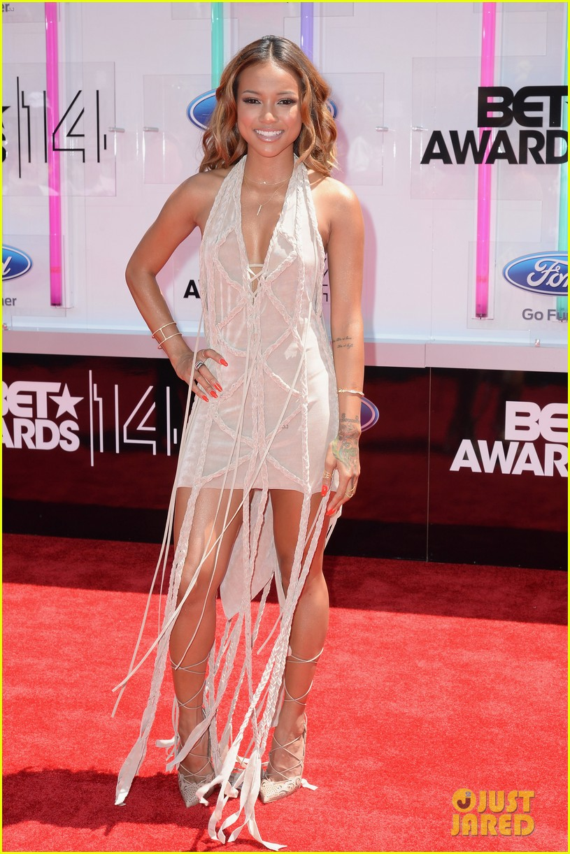 karrueche tran bet awards 2014 053146271