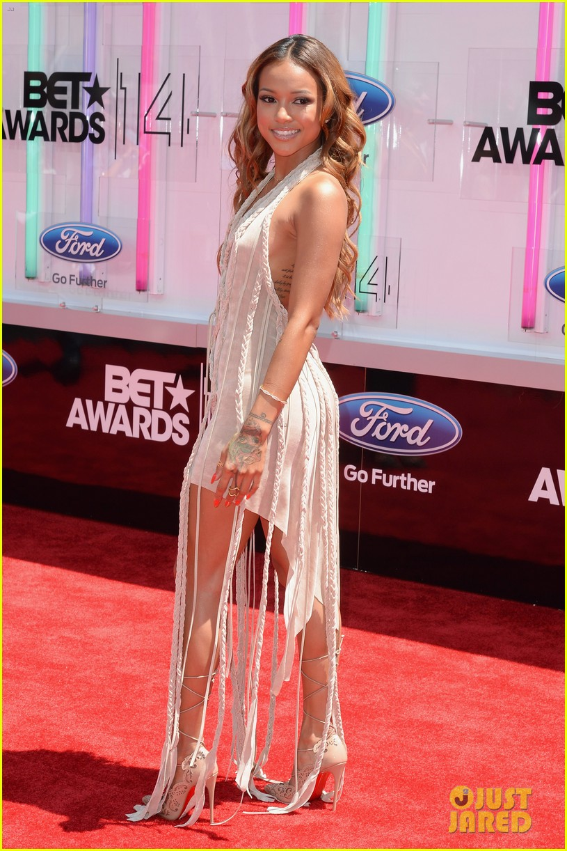 karrueche tran bet awards 2014 123146278