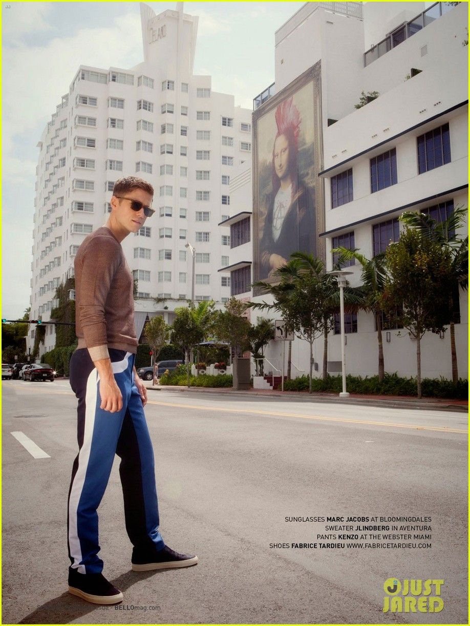 aaron tveit bello magazine 083126711