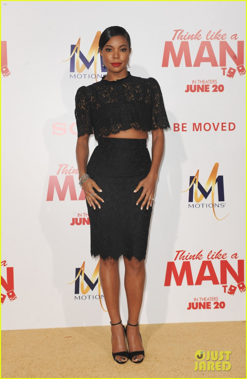 gabrielle union meagan good heat up the think like a man too premiere 233132339
