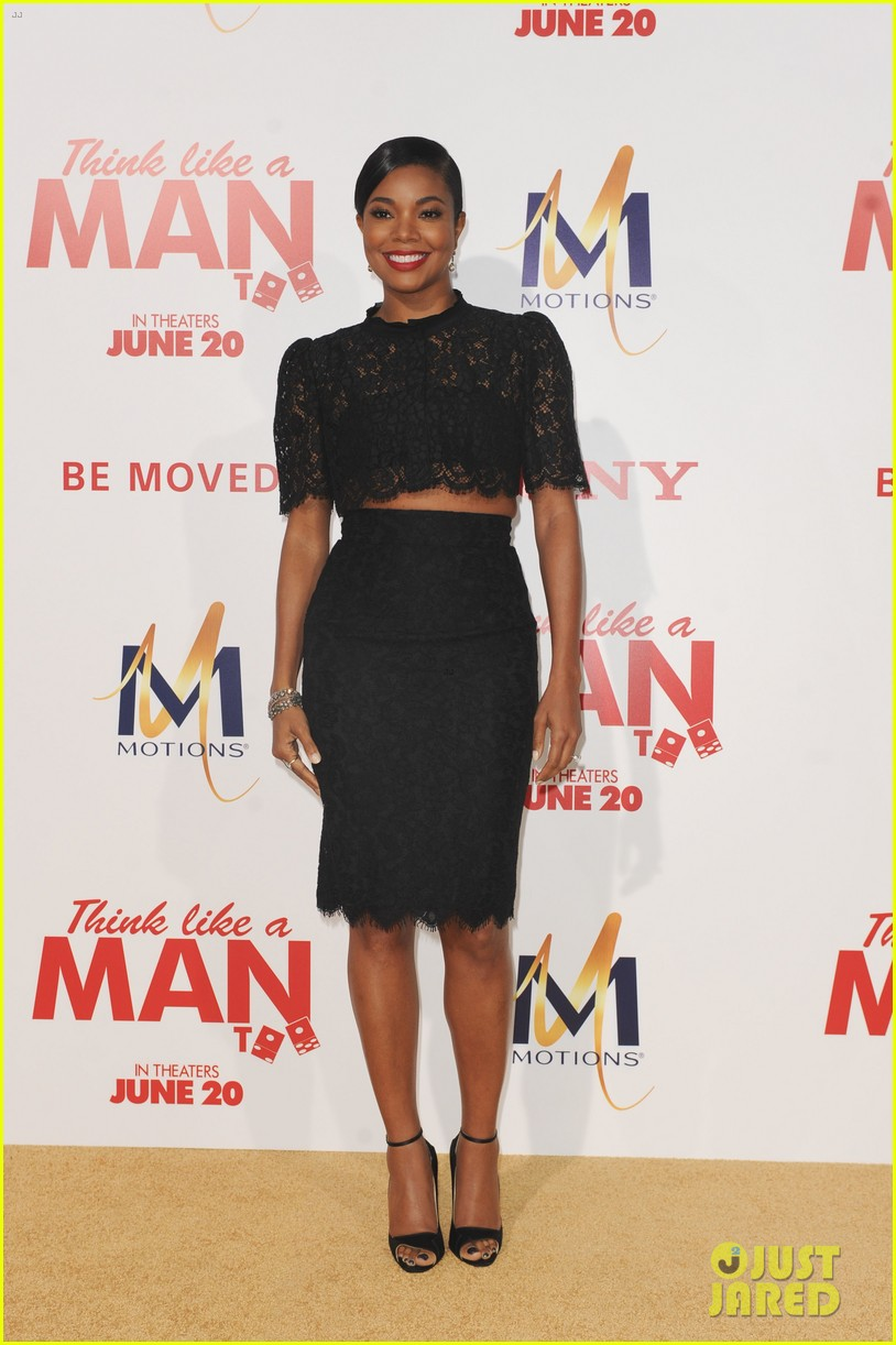 gabrielle union meagan good heat up the think like a man too premiere 403132356