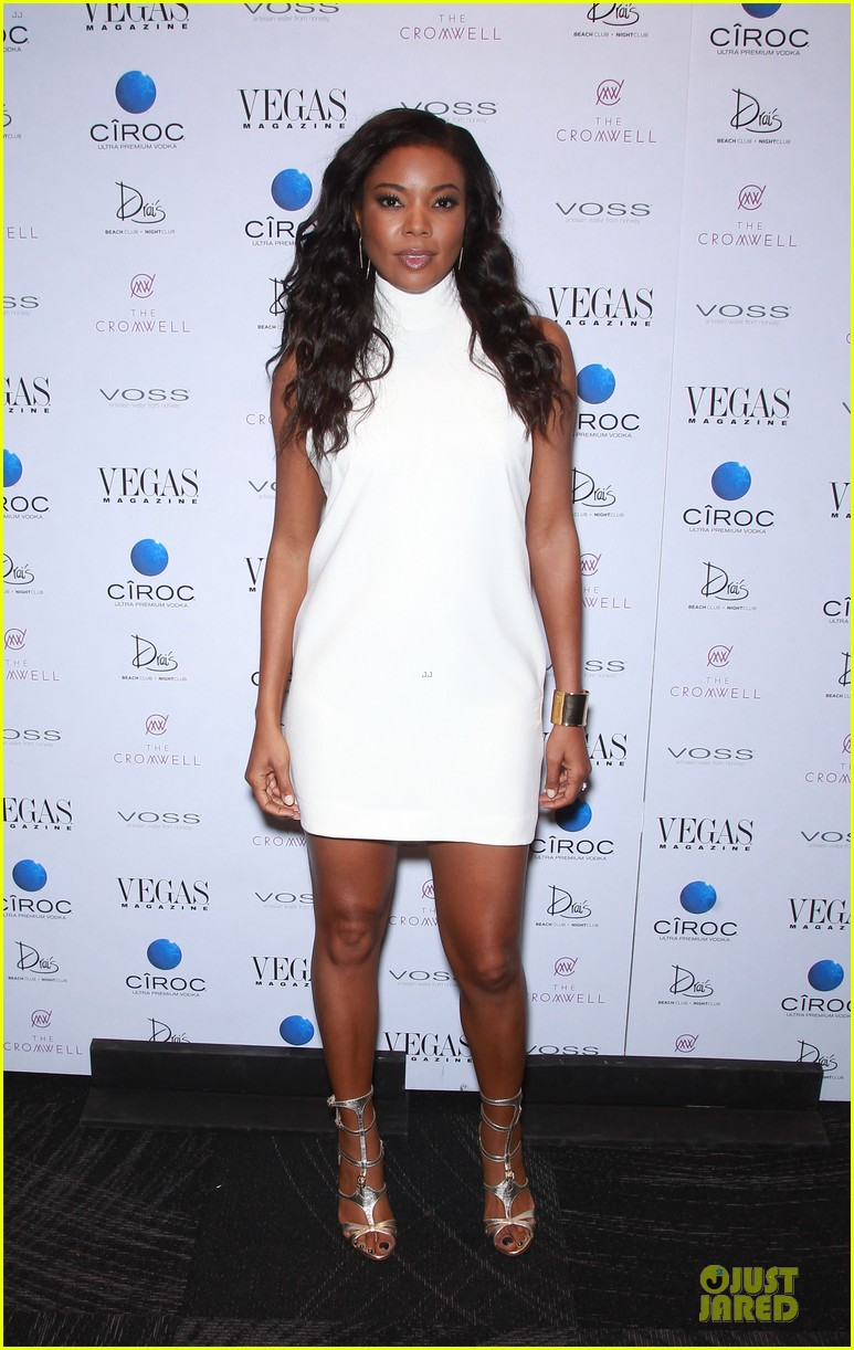 gabrielle union sexy back at vegas cover party 033130979