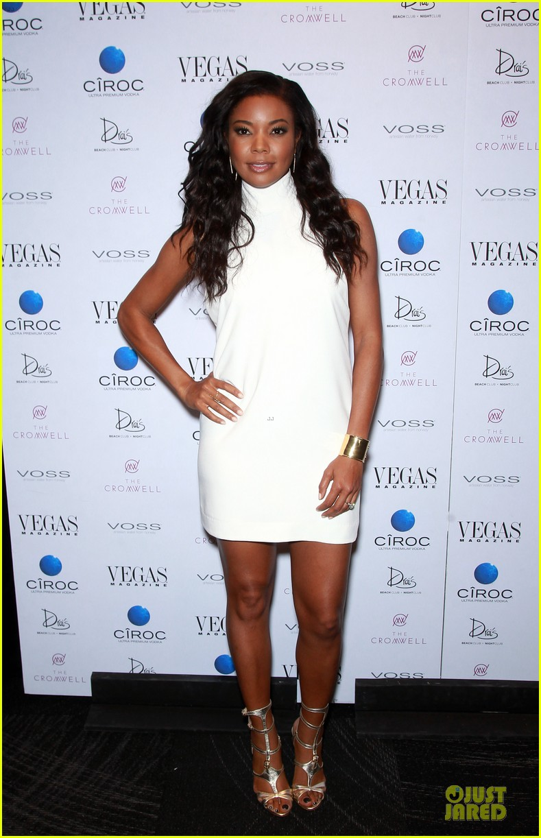 gabrielle union sexy back at vegas cover party 113130987