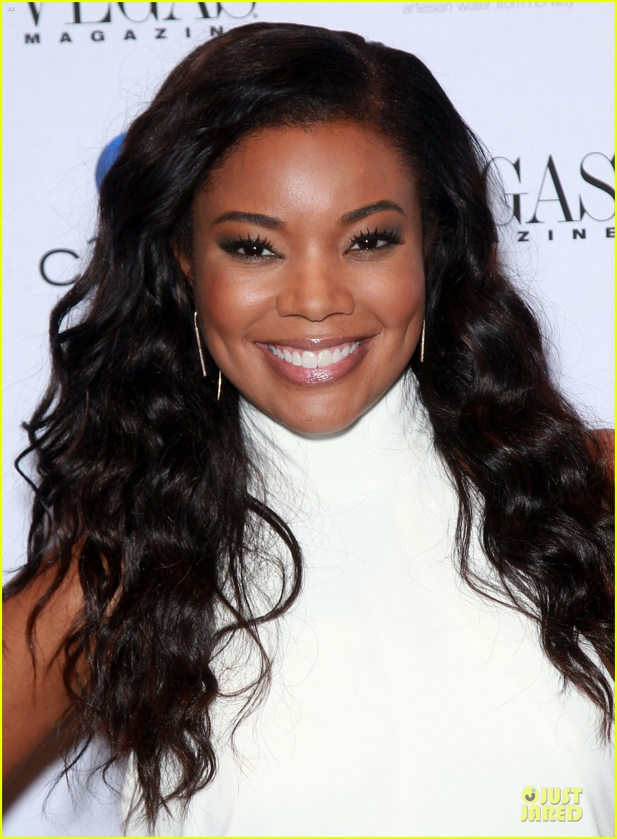 gabrielle union sexy back at vegas cover party 123130988