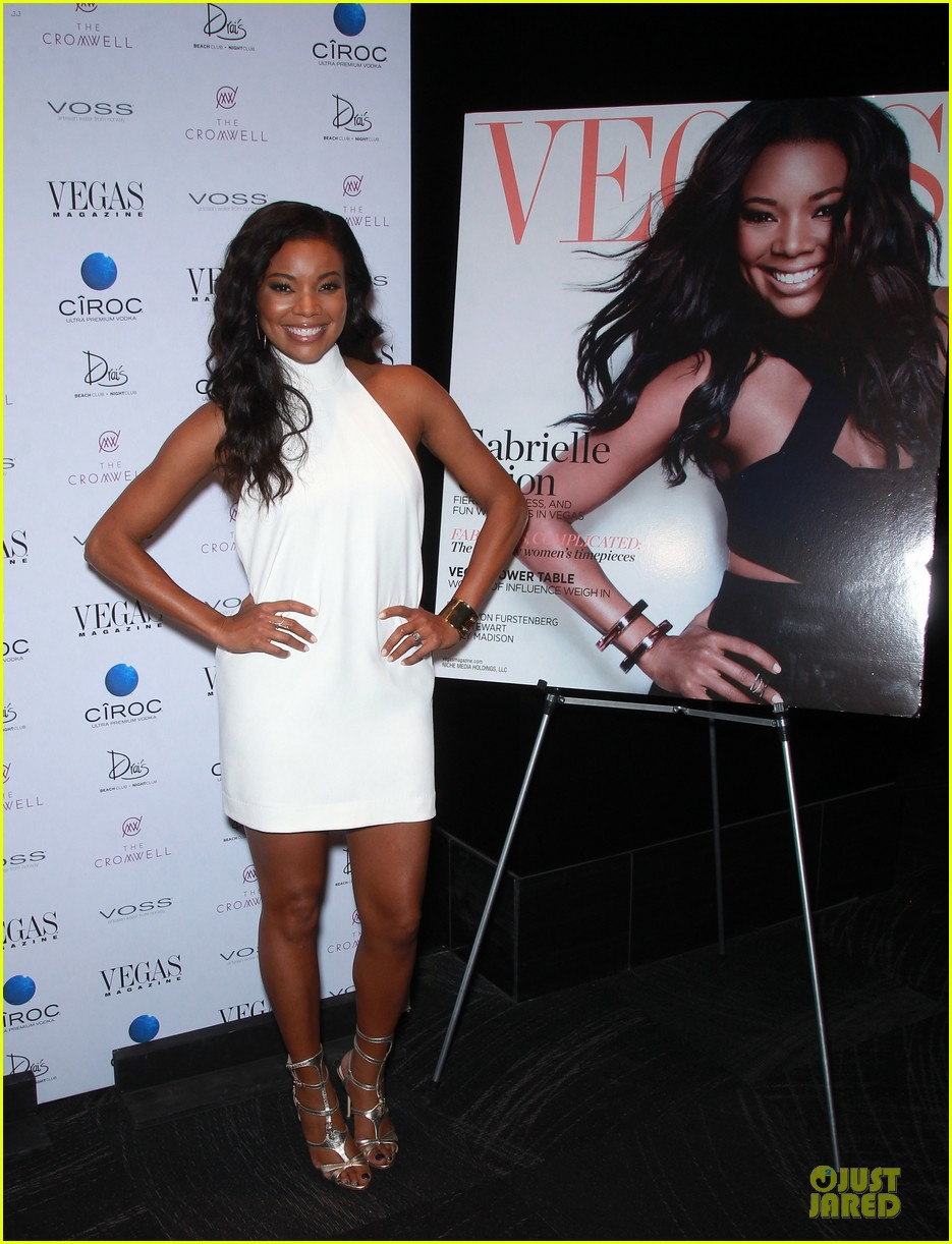 gabrielle union sexy back at vegas cover party 143130990