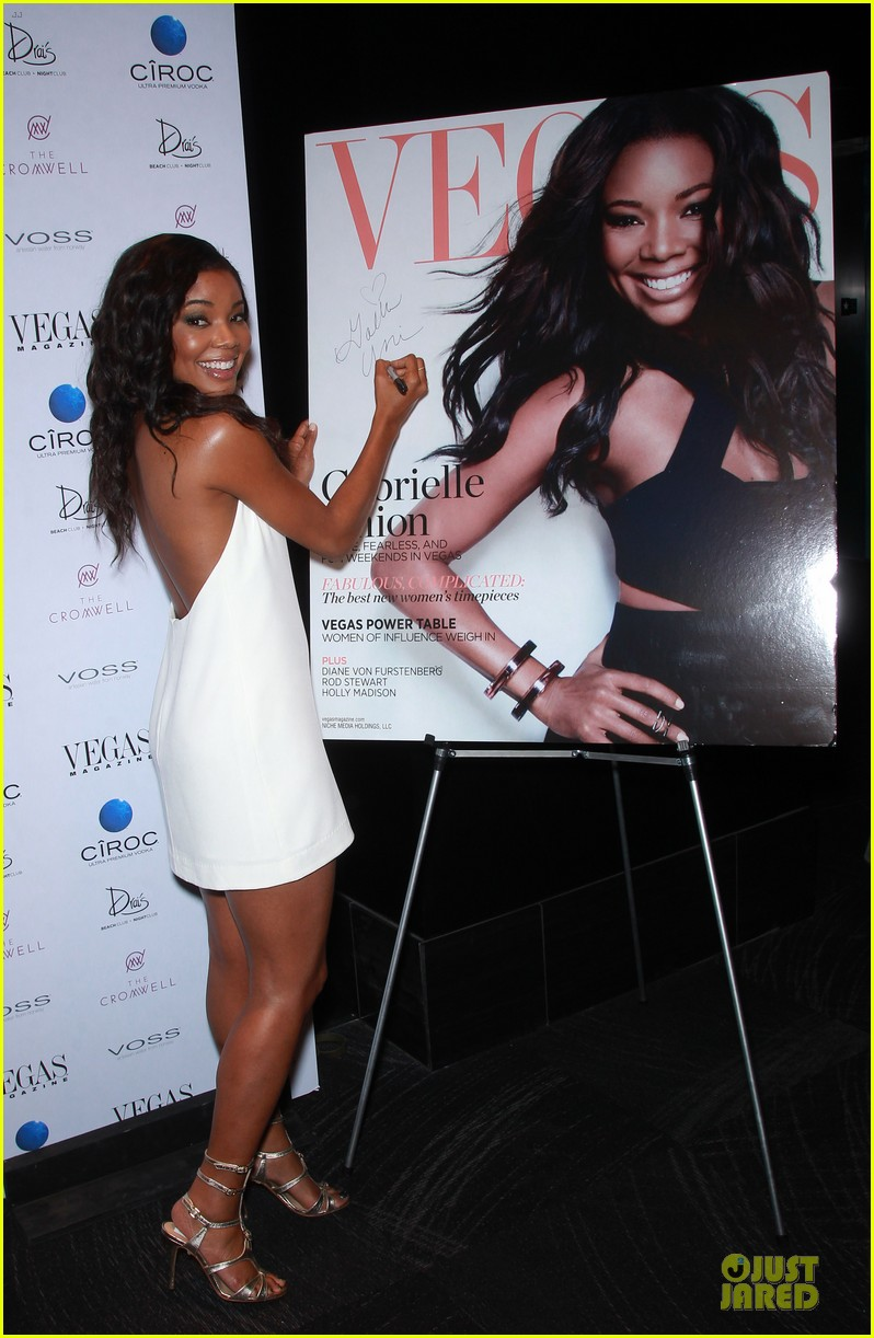 gabrielle union sexy back at vegas cover party 153130991
